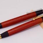 紅紫檀のペンを追加