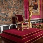 ベルサイユ宮のルイ14世の玉座