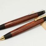 バイオレッドウッドのペンを追加&木の匂いのお話