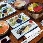 妻籠宿・藤乙旅館の晩御飯