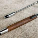 最初期型の木のシャープペンシル