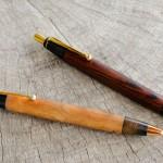使い込んだペンの金具の変更
