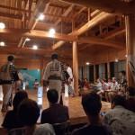 8月の毎週土曜は伝統芸能の夕べ・木曽踊り