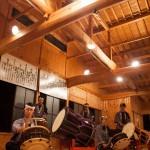 8月の毎週土曜は伝統芸能の夕べ・陣屋太鼓