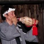 妻籠宿の火祭り2012