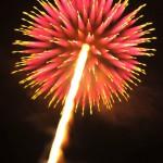 ちょっと変わった花火の撮り方