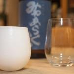 のんべぇ日記〜有田焼のエッグシェルとリーデルの大吟醸グラスを比較してみる