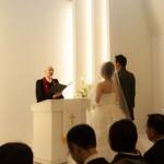 従妹の結婚式に参列してきました