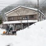 記録的な大雪中