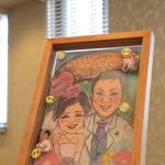 自作した結婚式のウェルカムボード