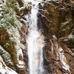 妻籠と馬籠の間の男滝女滝
