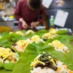 木曽の家庭料理・朴葉寿司