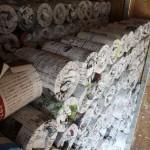 ケヤキの茶筒の粗挽き工程の制作ムービー