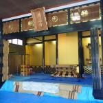 高山の専念寺の補修作業