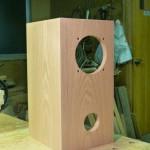 木のスピーカーBOX制作