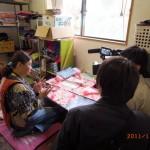 なぎそねこの取材に長野県のテレビ局さん来たる