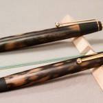 超特上黒柿・孔雀杢のペン