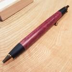 嫁日記:パープルハートのペン