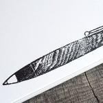 木のペンのハンコの新しいのを作る