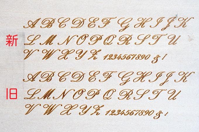 フォント 筆記 体