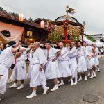 【動画】平成29年 妻籠宿 和智埜神社祭礼